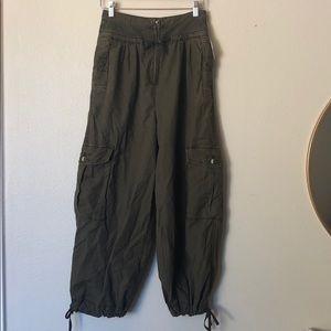 Free People Pants - Fly Away Parachute Pant